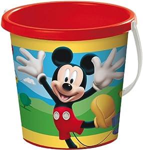 Mickey Mouse Mondo A1100221 Cubo de Playa (17 cm)