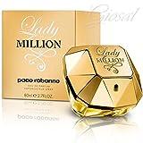 Damenduft Paco Rabanne Lady Million Eau de Parfum 30ml 50ml 80ml feminine GIOSAL 50ml