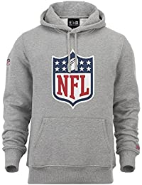 "New Era ""NFL Logo"" Hoodie - heather grey"