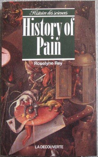 History of pain par Roselyne Rey