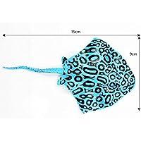 BAOLIJIN Ornamento Luminoso de los Pescados del patín del Acuario Artificial para la decoración del Paisaje del Acuario Fish Tank Ornament