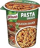 Knorr Snack Bar Pasta Snack Gulasch-Sauce 1 Portion (8 x 60 g)