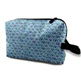 Travel Hanging Cosmetic Bags Waves Seamless Multi-functional Toiletry Makeup Organizer