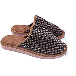 Super comfortable winter home sleepers and flip-flops (42/43, brown)