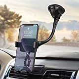 Mpow Gravity Car Phone Mount, Windshield Cell Phone Car Holder with Durable Washable