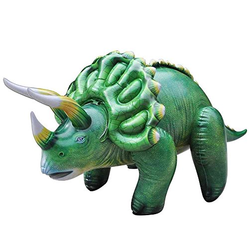 (Inflatable Large Triceratops Dinosaur. Blow Up Animal 43