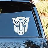 Transformers Autobot adesivo decalcomania da finestrino auto colore nero