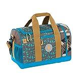 Lässig Mini Sportsbag Sporttasche mit Schuhfach Dino slate, Turnbeutel, 40 cm, Grey