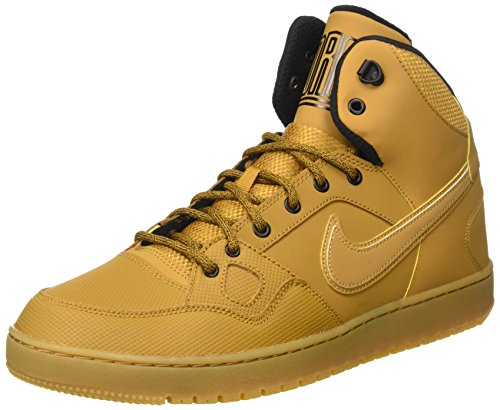 Nike Son Of Force Mid Winter Scarpe da ginnastica, Uomo, Marrone (Wheat/Black/Gum Light Brown), 42.5