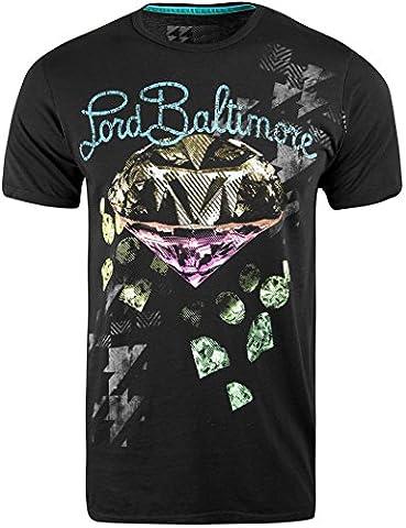 Lord Baltimore Graphic T-Shirt mode Par Christian Audigier. - - Large