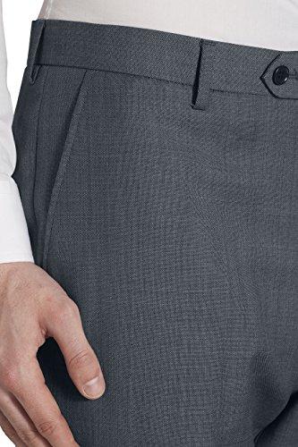 next Hommes Coupe Classique Costume En Laine Mélangée: Pantalon Bleu clair