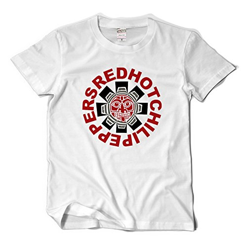 CosDaddy ® RHCP Red Hot Chili Peppers Rock Band T-Shirt Bequem Baumwolle Cosplay 1