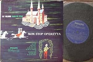 """COLIGNON, RAY / HAMMOND ORGAN / NON STOP OPERETTA / Bildhülle mit ORIGINAL Pergamin-Innenhülle / PHILIPS # P 10435 R / Holländische Pressung / 10"""" Vinyl Langspiel Schallplatte"""