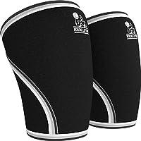 Knie Ärmel (1Paar) Unterstützung & Kompression für Gewichtheben, Powerlifting & Crossfit–7mm Neopren Sleeve... preisvergleich bei billige-tabletten.eu
