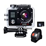 Campark® ACT76 Action Kamera Sports Helmkamera Camcorder 16MP 4K 1080P Wifi mit Dual LCD...