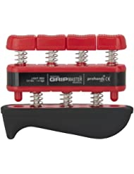 prohands by Gripmaster medical - Aparato entrenador de dedos, color rojo, resistencia 3 lbs