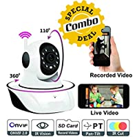 Package Content :                       1 X Wi-Fi (HD) IP Wireless CCTV Security Camera       1 X Rugby style Bluetooth Speaker       1 X Mini USB Rechargeable Fan                Color :               Colors will be dispatch d...