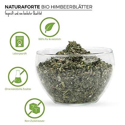 NaturaForte-Bio-Himbeerbltter-Tee-geschnitten-250g-Himbeer-Tee-Himbeerbltter-Tee-whrend-Schwangerschaft-mit-Hebamme-abklren-Bio-Qualitt-Lose-Ohne-Zustze-Laborgeprft-DE-KO-003
