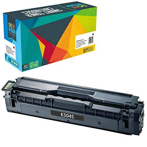 Do it Wiser Toner Compatibile CLT-K504S per Samsung CLT-C504S c504s C1810W CLX-4195FN CLP-415 CLP-415N CLP-415NW CLP-470 CLP-475 CLX-4195N CLX-4195FW SL-C1860FW CLX-4170 (Nero)