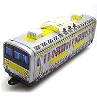 Andensoner Clásico Vintage Clockwork Subway Train Wind Up Reminiscence Niños Niños Juguetes de la Lata con Llave