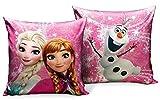 Star  Disney Frozen Art. Code- 55897, Cuscino Stampato, Dimensioni 35 x 35 cm