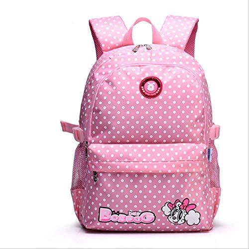 Xjwq zaino scuola carino ragazze backpacks bambini satchel bambini scuola borse per ragazze impermeabile stampa stampa bambino scuola mochila escolar rosa grande