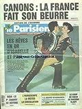 PARISIEN (LE) [No 14470] du 15/03/1991 - CANONS - LA FRANCE FAIT SON BEURRE - LES REVE EN OR D'ISABELLE ET PAUL DUCHESNAY - SIDA - LE PR ZAGURY SE DEFEND - LE COUP DE COEUR DE MARINA VLADY