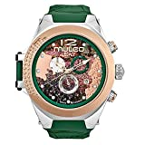 Mulco Legacy MW5–3700–473Impressionnisme Collection Bande verte Suisse montre à quartz