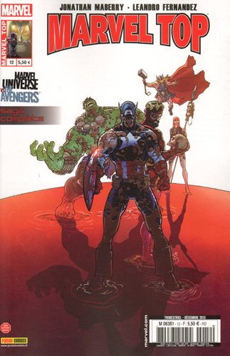 Marvel top 12 marvel universe vs the avengers