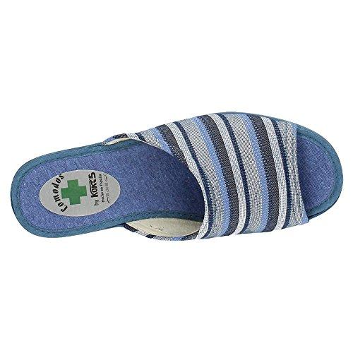 KOKIS, Pantofole donna Jeans