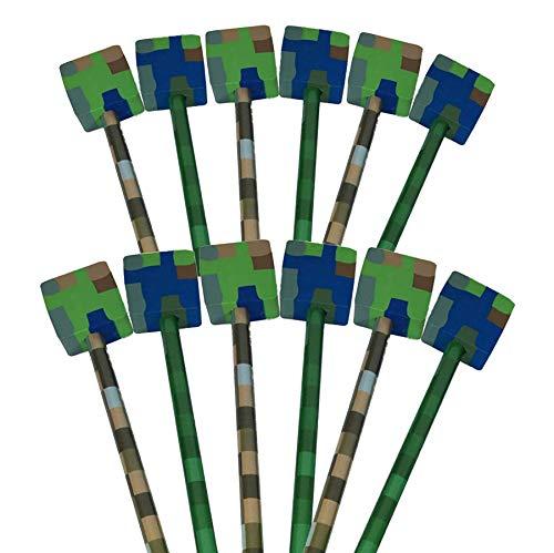 rgummi, Tarnmuster, 12 Stück Ideales Party-Tütenfüller, ideal als Geschenk für Studenten und günstige Geschenke für Kinder ()
