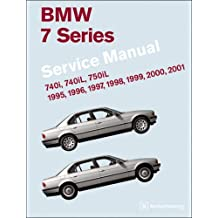 BMW 7 Series (E38) Service Manual: 1995-2001: 740i, 740il, 750il by Robert Bentley (2007-06-30)