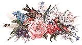 I-love-Wandtattoo WAS-12702 Florales Aquarell Wandtattoo