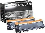 2 Schneider Printware Toner | je 6.000 Seiten, 125% mehr Druckleistung | als Ersatz für TN-2320 kompatibel zu Brother HL-L2340DW L2360DN L2365DW MFC-L2700DW 2720DW 2740DW DCP-L2500D L2520DW L2540DN | Geprüft nach ISO-Norm 19752|