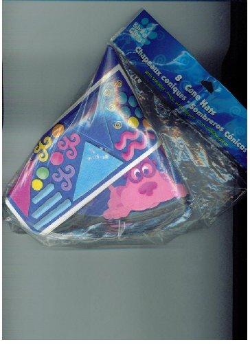 Blue 's Clues–Blau und Schlau 8Cone Hats