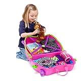 Trunki Children's Ride-On Suitcase: Trixie (Pink) Bild 5