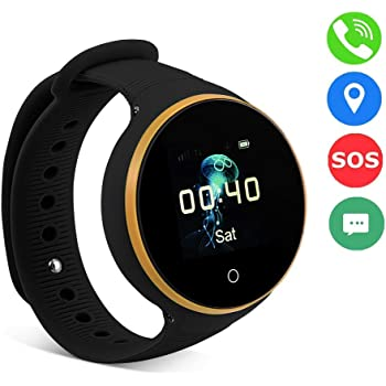 247639e3303b09 VBESTLIFE GPS Smart Watch Kid Safe pour Smart Montre Bracelet, Enfant Montre  SOS LBS +
