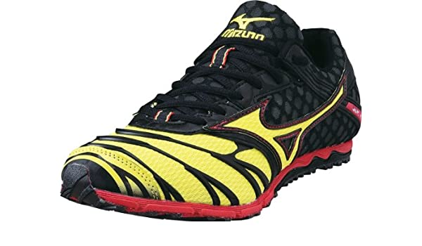 Mizuno Wave Kizuna 7 Cross Country Spike Chuh 8 Km de 18545-grau - Multicolore - Mehrfarbig,