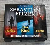 Sebastian Fitzek 3 Hörbücher - Die Therapie + Das Kind + Splitter - 12 CDs