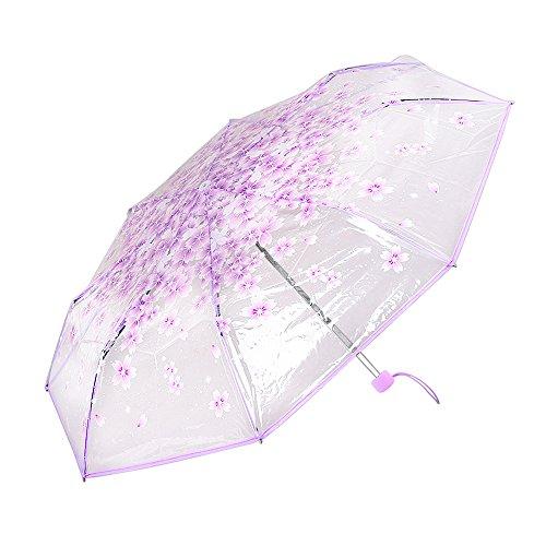 toxtech-parasol-romntico-plegable-sakura-transparente-paraguas-de-la-pintura-mini-paraguas-plegable-