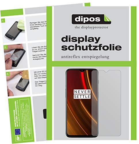 dipos I 6X Schutzfolie matt passend für OnePlus 6T McLaren Edition Folie Bildschirmschutzfolie