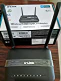 D-Link 2750U/IN/I Wireless-N300 ADSL2 Router with Modem (Black)