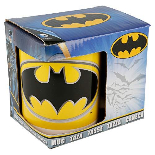Taza para desayunar. Decoración superhéroe Batman.