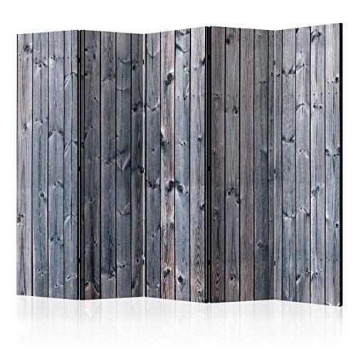 murando Paravent XXL: 225x172 cm Réversible Deux Côtés Impression sur Toile intissée 100% Opaque Foto Paravent décoratif en Bois avec Interieur Impression f-A-0574-z-c