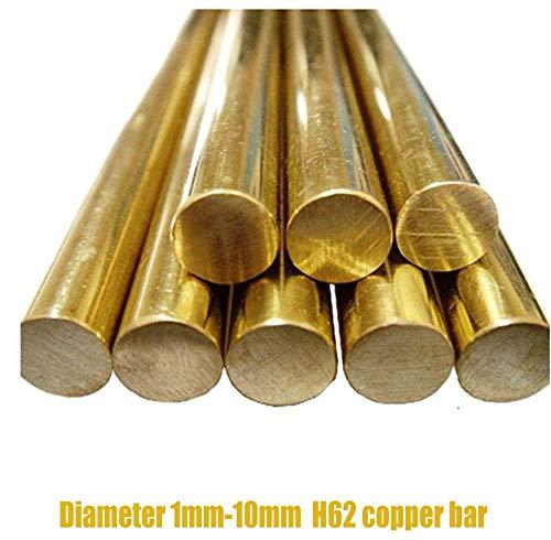 Zoomy Far: 1/2/3/4/5/6/7/8/9/10 mm Schneidewerkzeug, Messing, Schaft aus Messing, H62, Handnietstange, 1 mm