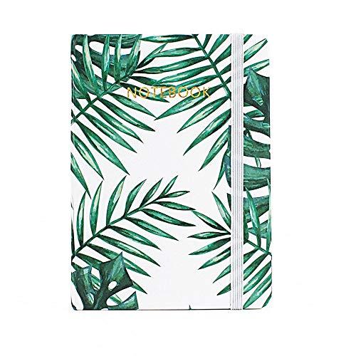YWHY Notizbuch Ywhy Notizbuch Ywhy Notizbuch Palm Leaf Designs Notizbuch Hardcover A6 Notizbuch Schreibwaren Schulbedarf, A