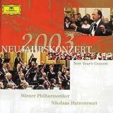 Songtexte von Wiener Philharmoniker, Nikolaus Harnoncourt - Neujahrskonzert 2003