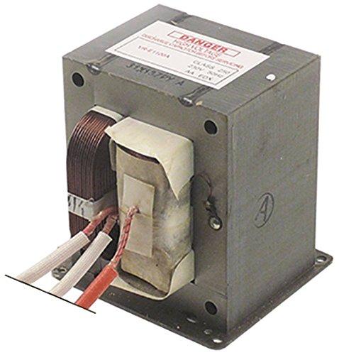 HV-Transformator YR-E1100A für Mikrowelle primär 230V 50Hz (Mikrowelle Transformator)