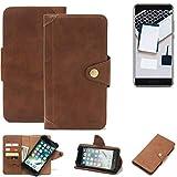 K-S-Trade for Blackview P6000 Wallet Case Mobile Phone