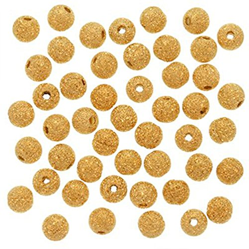 duman-22k-gold-plated-stardust-sparkle-round-beads-4mm-100pcs-by-duman-stardust-beads